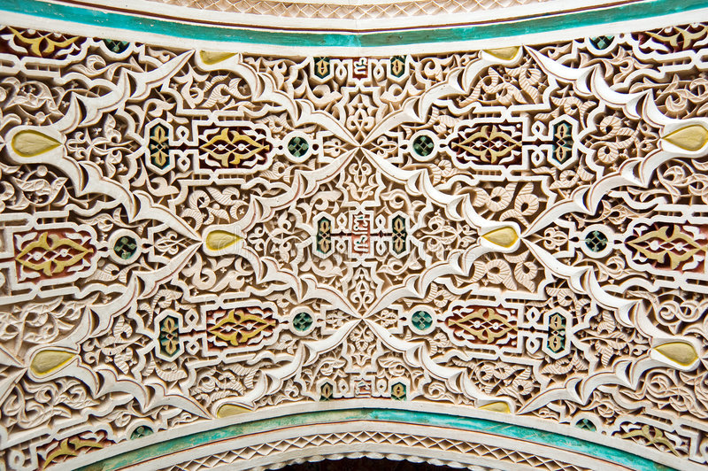 Download Moroccan Style Stucco Background Royalty Free Stock Photos - Image: 8391718
