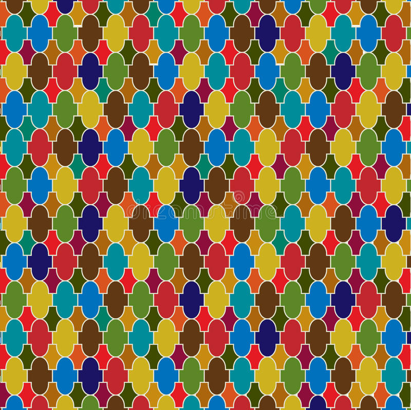 Moroccan tile background. Abstract Moroccan tile background pattern vector illustration