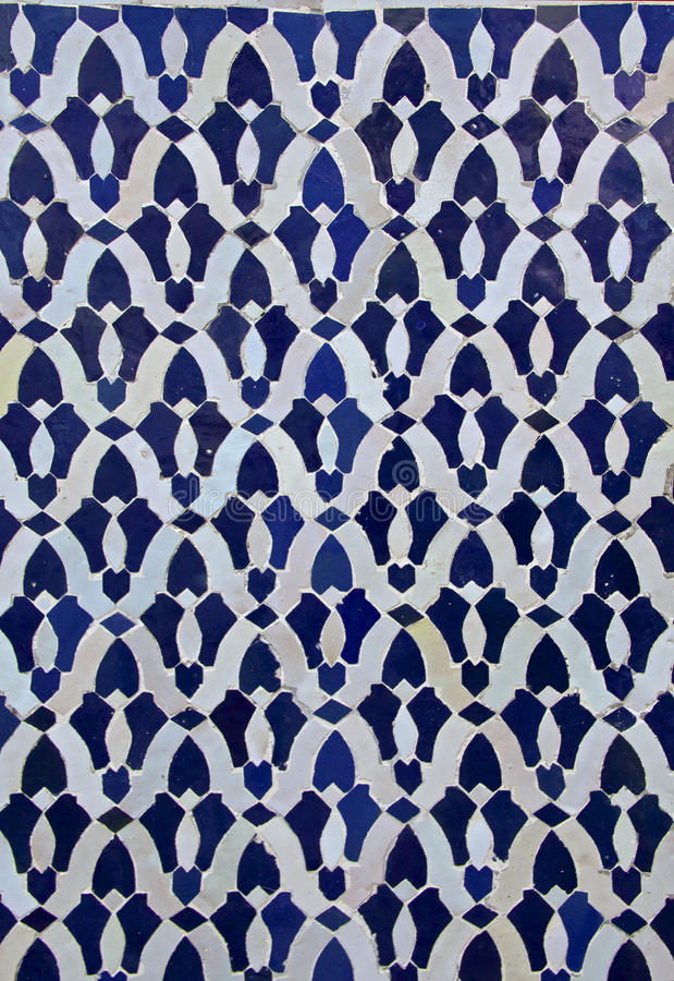 Moroccan Tile Pattern royalty free stock photography