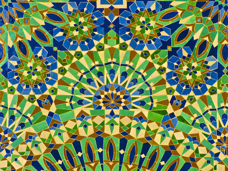 Moroccan Zellige Tile royalty free stock images