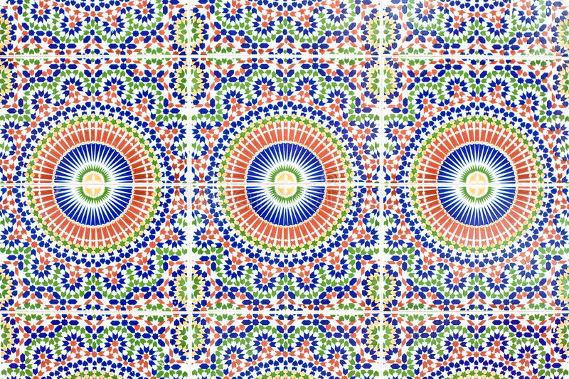 Moroccan tiles stock photos