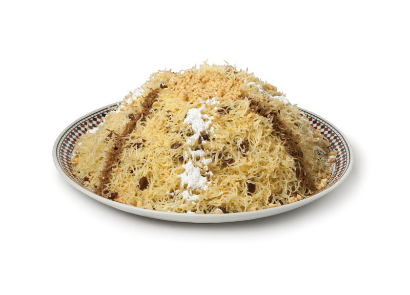 Download Moroccan vermicelli seffa stock image. Image of white - 37490981