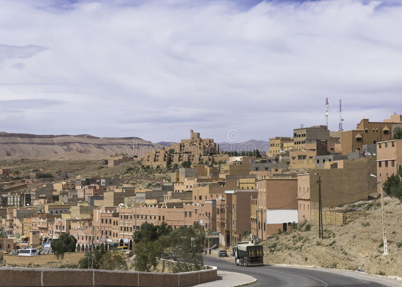 Download Moroccan village stock photo. Image of ouled, sahara - 31907434