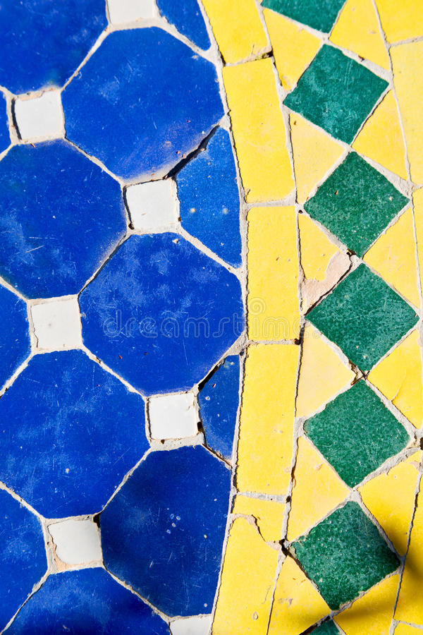 in morocco colorated floor ceramic royalty free stock photo