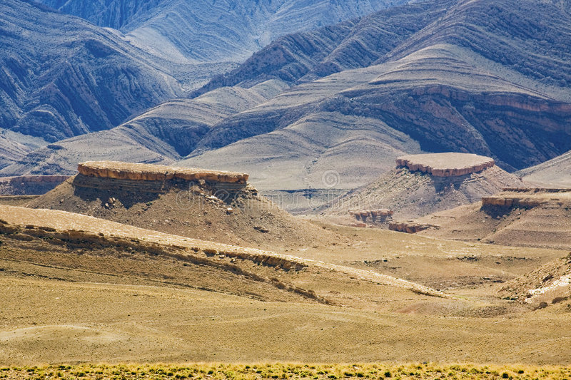 Morocco, Gorges. Royalty Free Stock Images