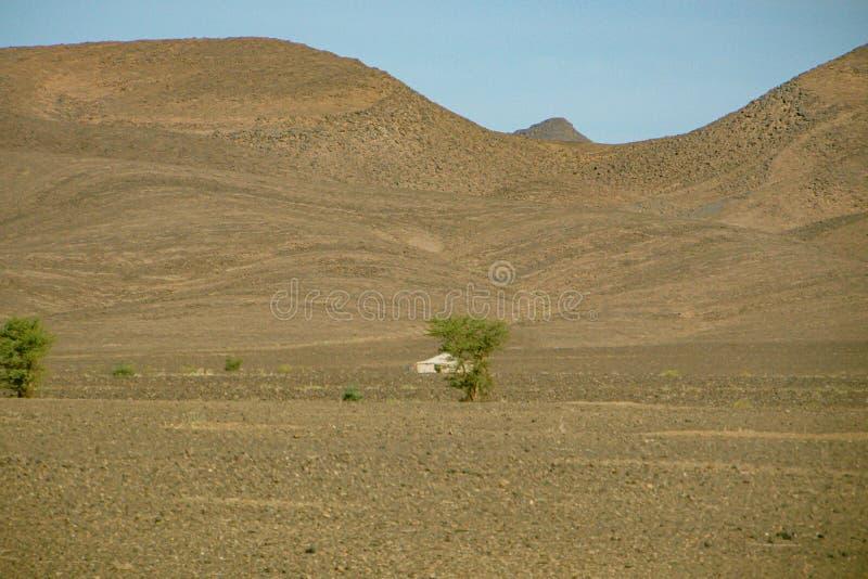 Morocco.  High Atlas desert landscape royalty free stock photos