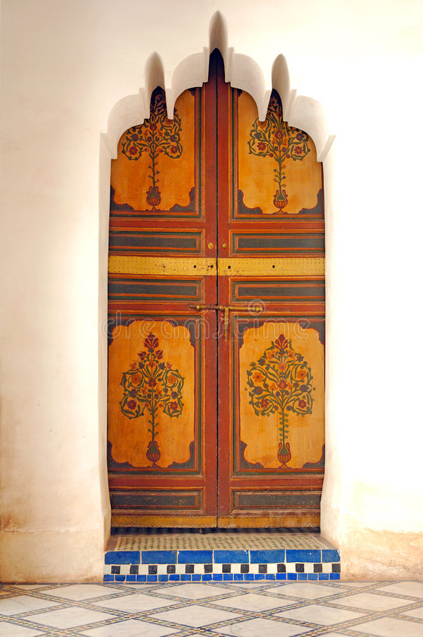 Morocco, Marrakesh: Bahia Palace Marrakech stock image