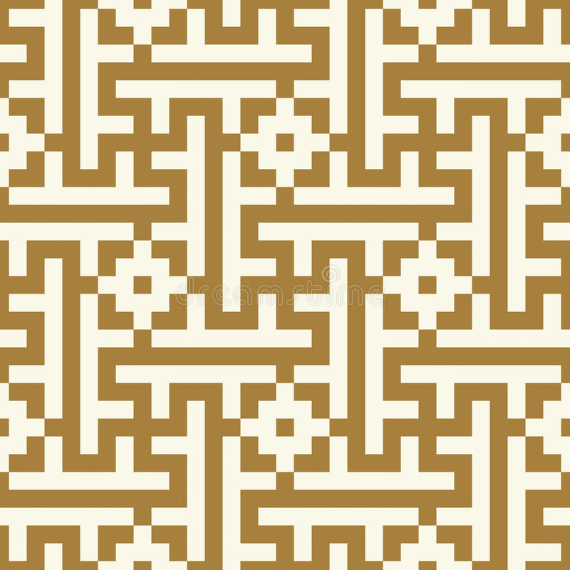 Morocco Seamless Pattern. Ancient pixel graphic style. vector illustration