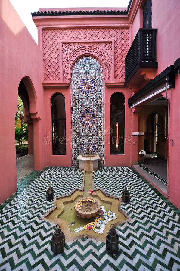 Download Morocco Style Building Stock Photo. Image Of Islamic   32988196