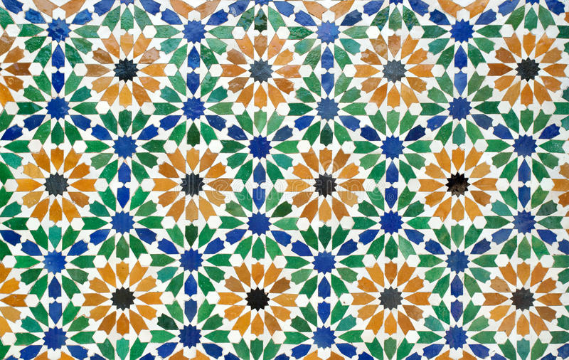 Morocco tiles royalty free stock images