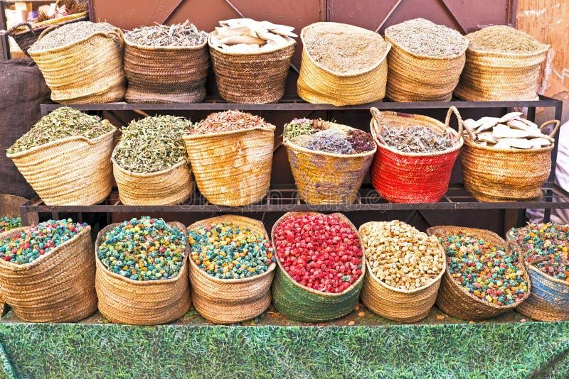 Morocco Traditional Market