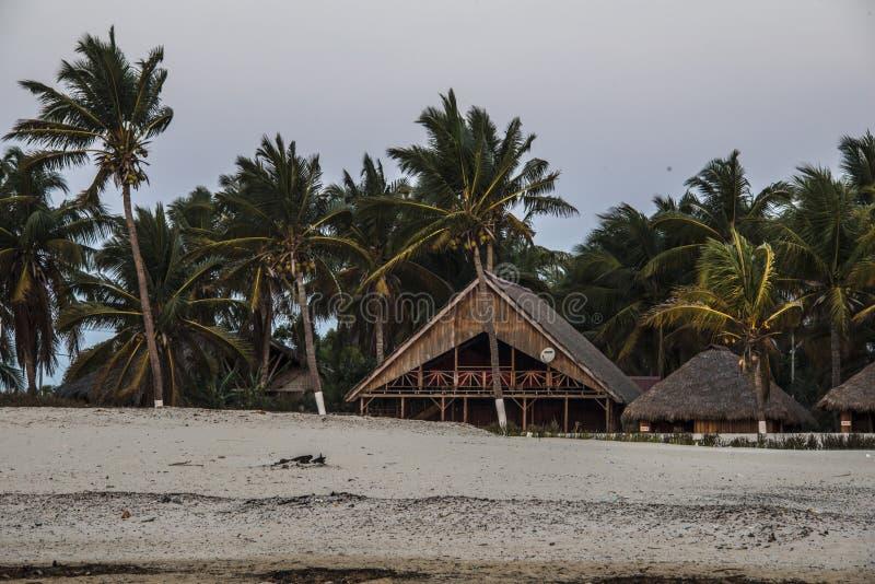 Morondava beach stock photo