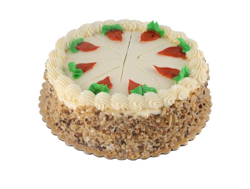 morot för 2 cake arkivbild