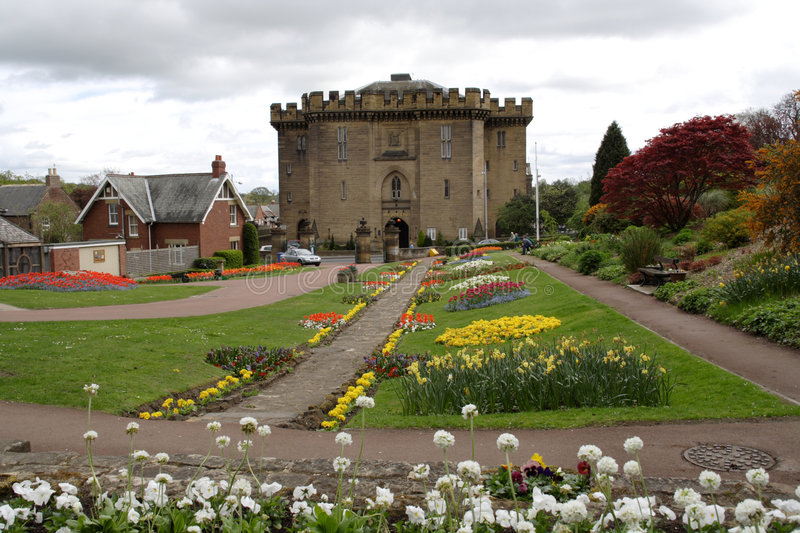 Morpeth Court stock photography