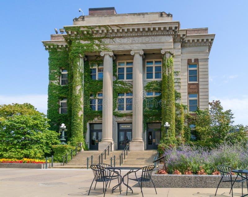 Morrill Hall sur le campus de l'université du Minnesota photographie stock libre de droits