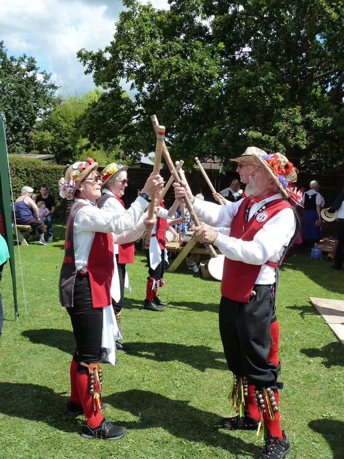 Morris Dancers imagem de stock royalty free