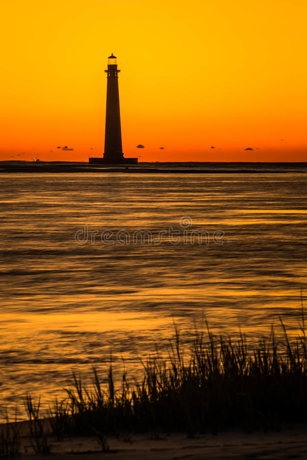 Morris Island Lighthouse 2 imagenes de archivo