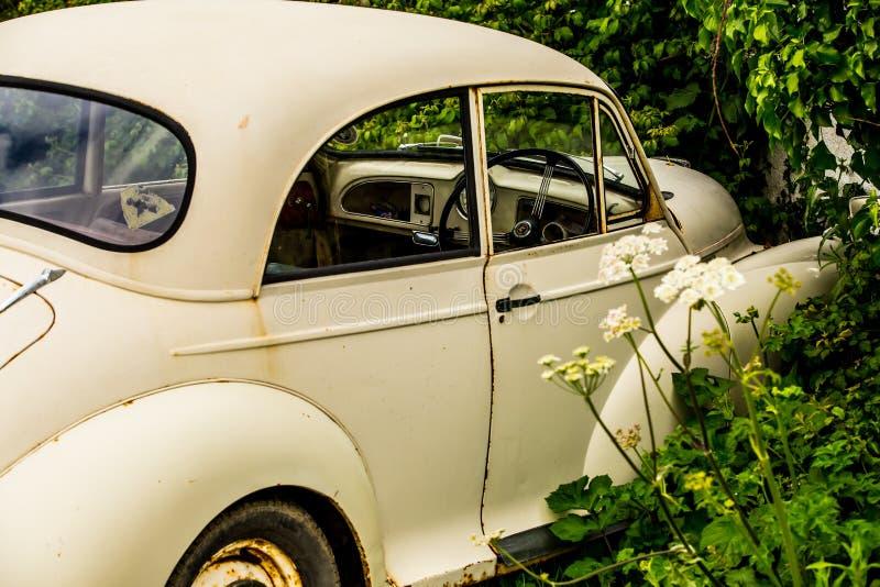Morris Minor 1000 fotografía de archivo libre de regalías