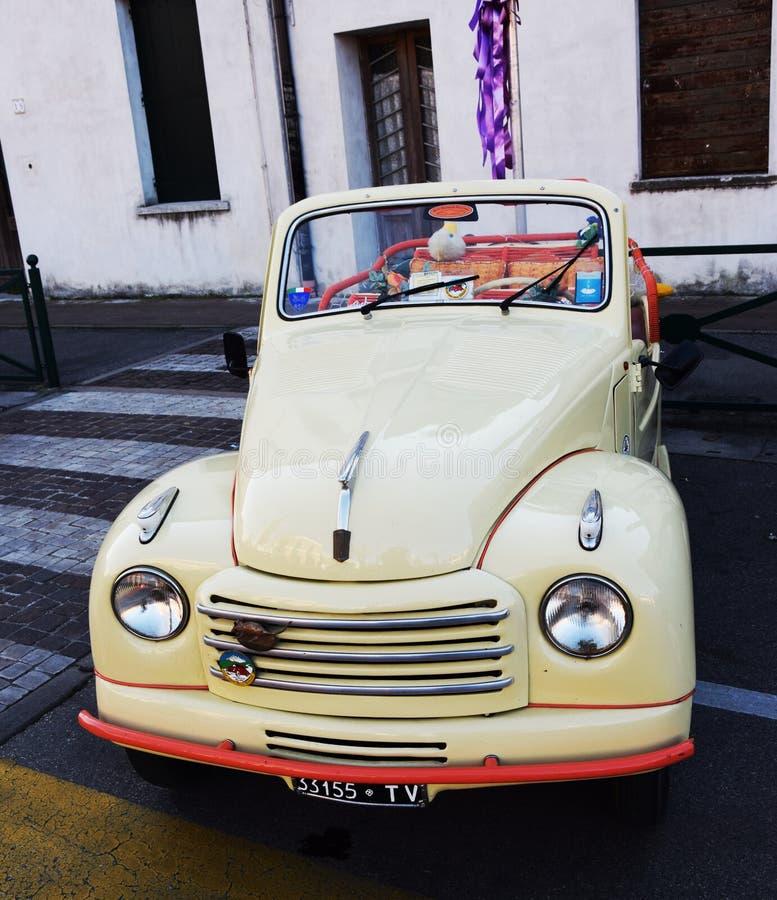 Morris Minor Cabrio images libres de droits