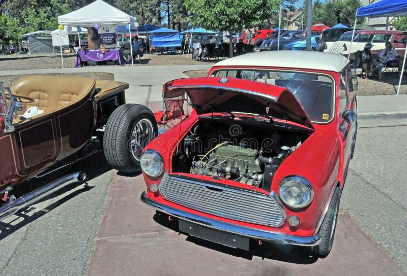 Morris Minor Mini Coupe fotografía de archivo