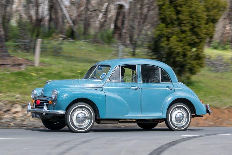 Morris Minor Sedan 1955 fotografía de archivo