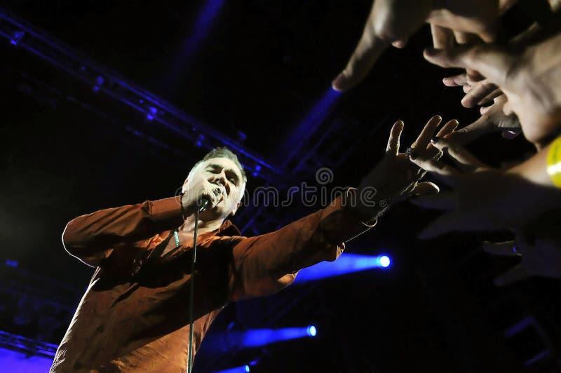 Morrissey - το Smiths στοκ φωτογραφίες με δικαίωμα ελεύθερης χρήσης