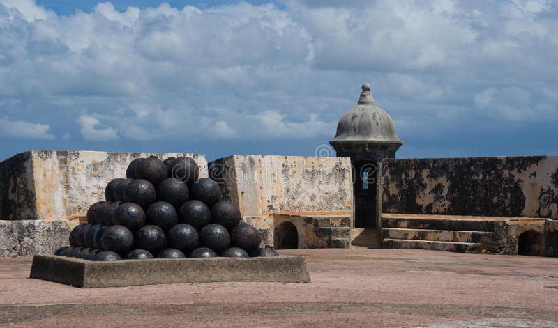 morro Πουέρτο Ρίκο οχυρών EL στοκ εικόνες με δικαίωμα ελεύθερης χρήσης