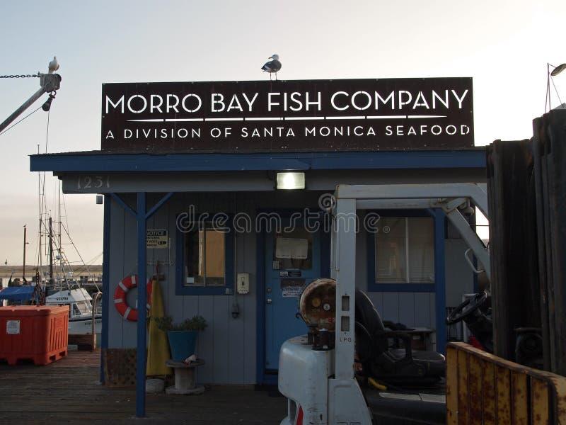 Morro Bay Fish Company royalty free stock photo
