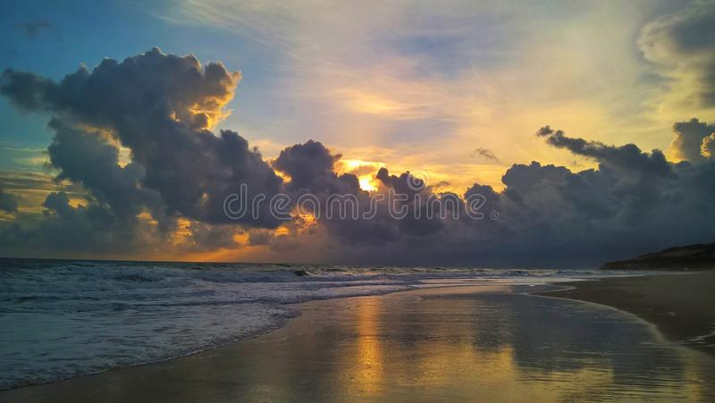 Morro Branco - Ceara stock photography