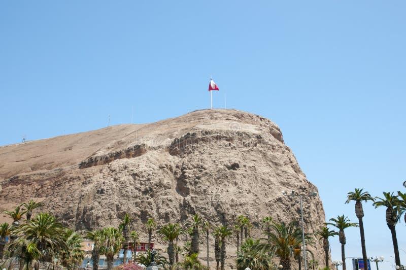 Morro de Arica - Χιλή στοκ εικόνες με δικαίωμα ελεύθερης χρήσης