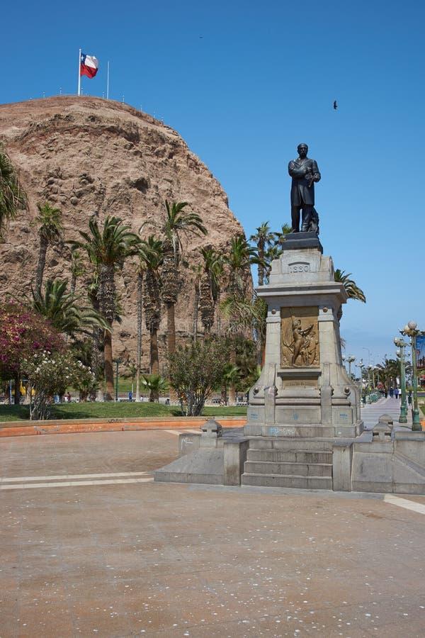Morro de Arica imagem de stock royalty free