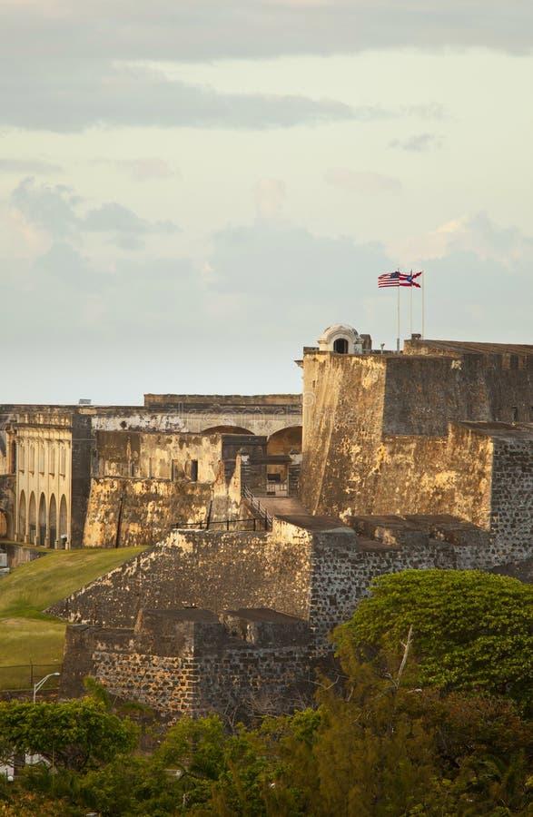 Morro di EL, Porto Rico immagini stock libere da diritti