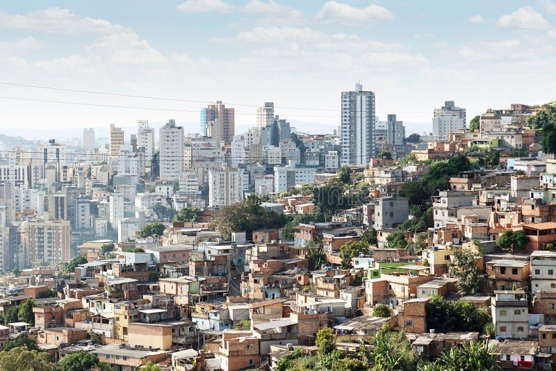 Morro do Papagaio στο Μπέλο Οριζόντε στοκ εικόνες με δικαίωμα ελεύθερης χρήσης