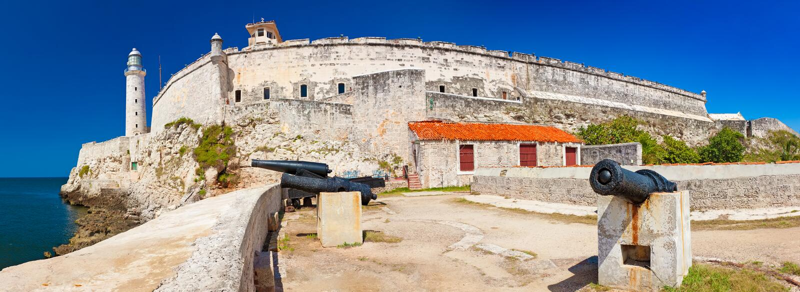 morro el havana замока стоковая фотография rf