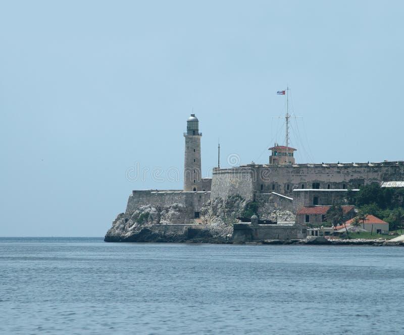 Morro Festung am Havana-Schacht lizenzfreie stockfotografie