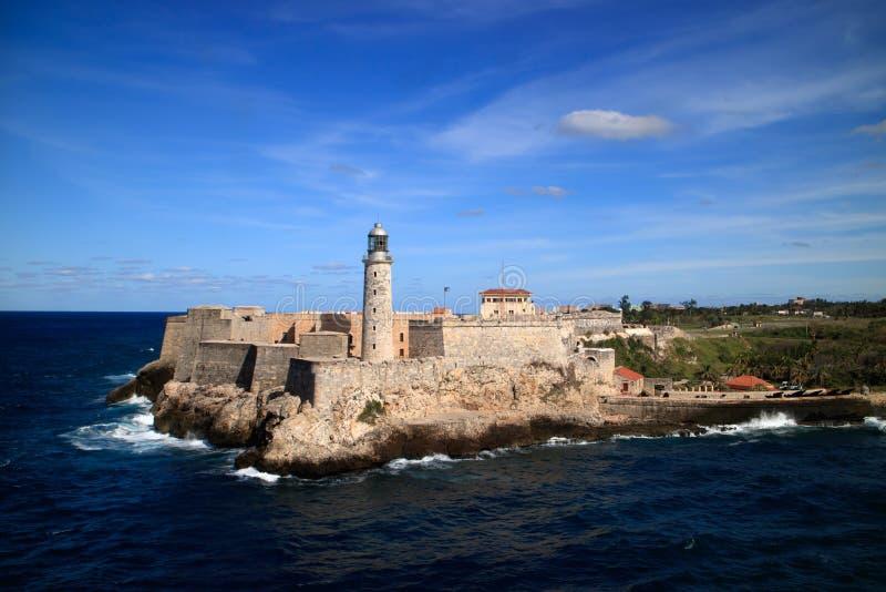 Morro-Fort Havana Cuba lizenzfreies stockfoto