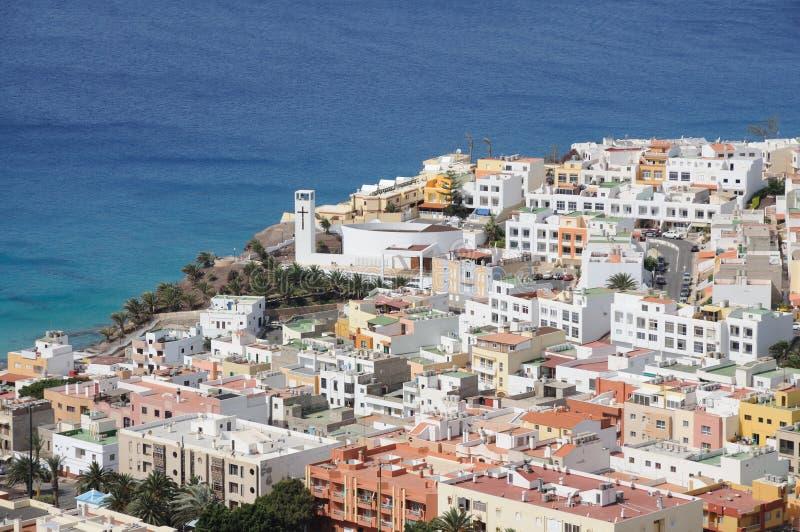 Morro Jable, Fuerteventura stock afbeeldingen