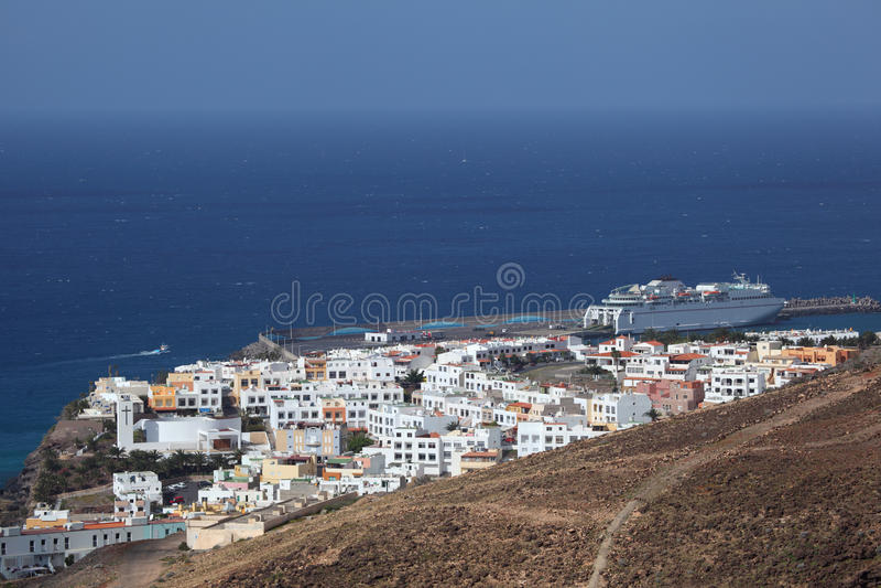 Morro Jable, Fuerteventura fotografie stock libere da diritti