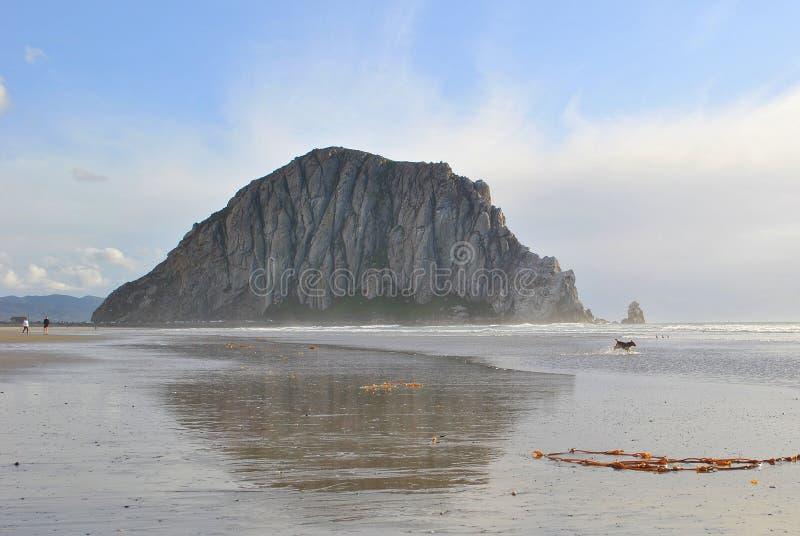 Morro zatoki skała fotografia stock