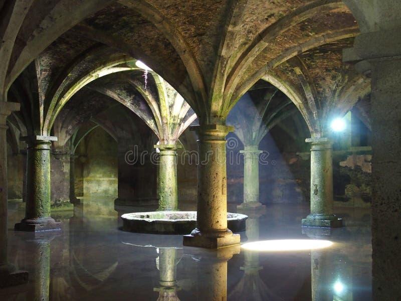 Morrocan architectural cistern stock photo