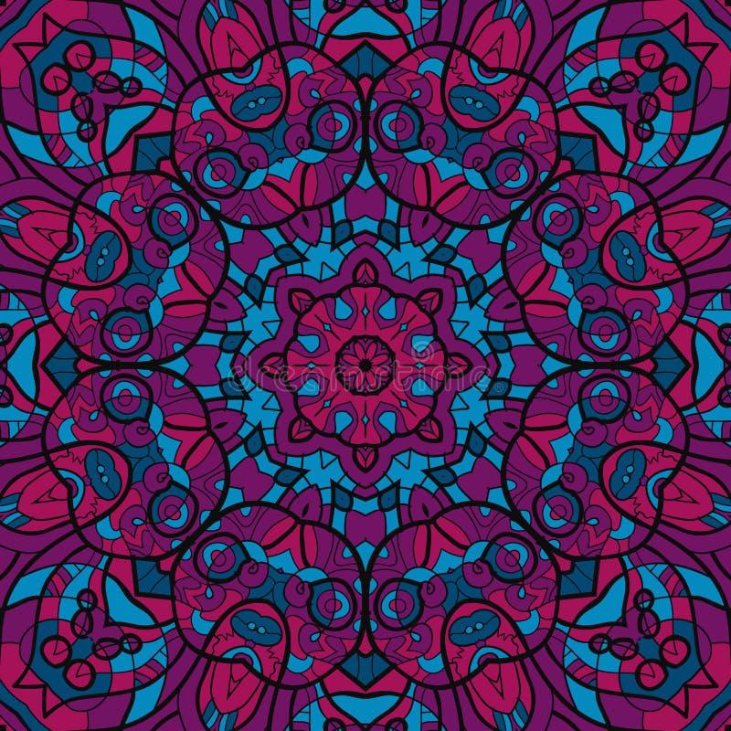 Morrocan carpet. Background vintage texture vector. Fabric illustration stock illustration