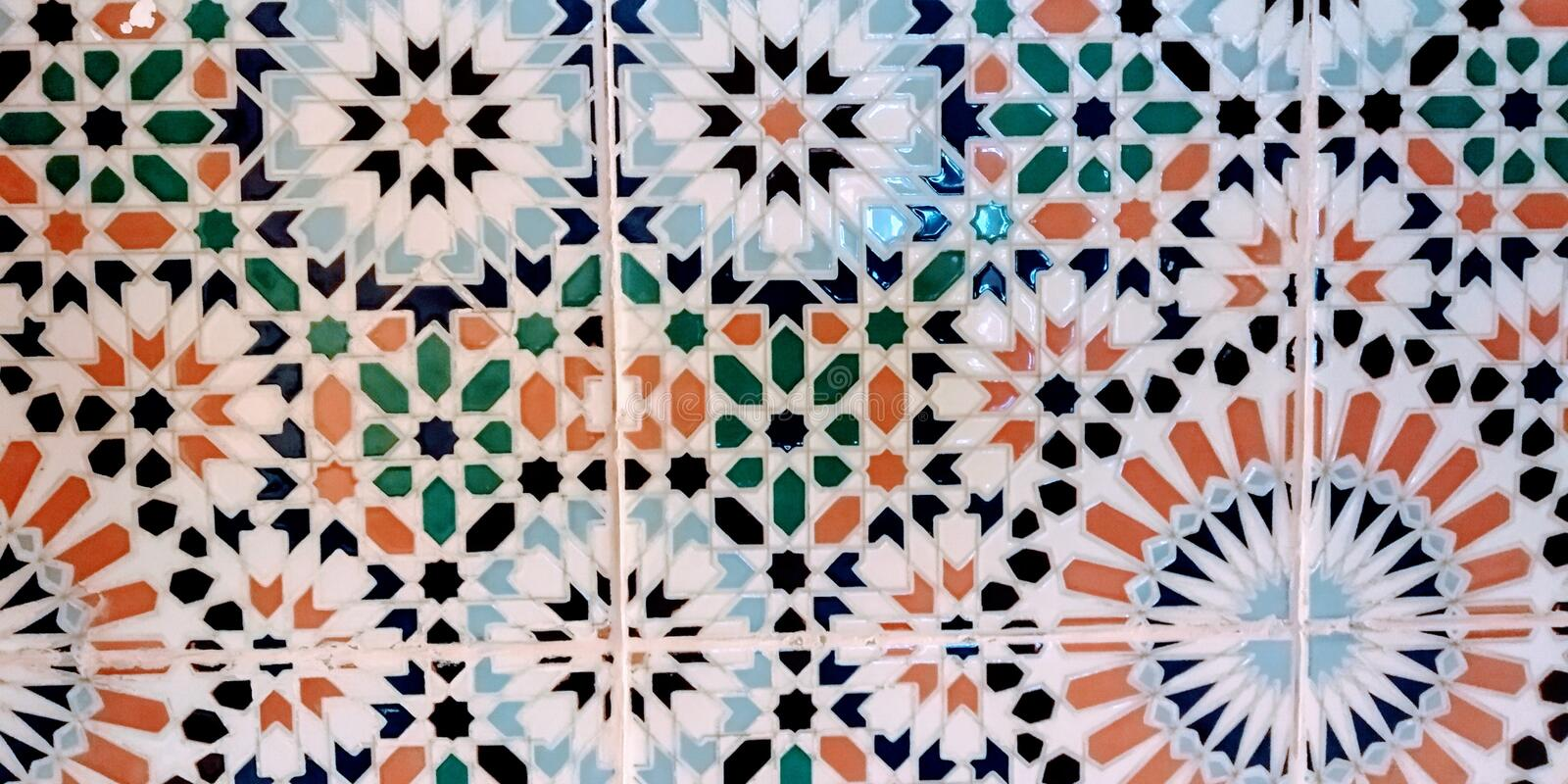 Morroccos Tile. royalty free stock images