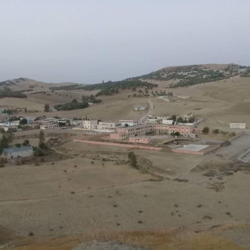 Morroco городка Jbabra стоковые фотографии rf