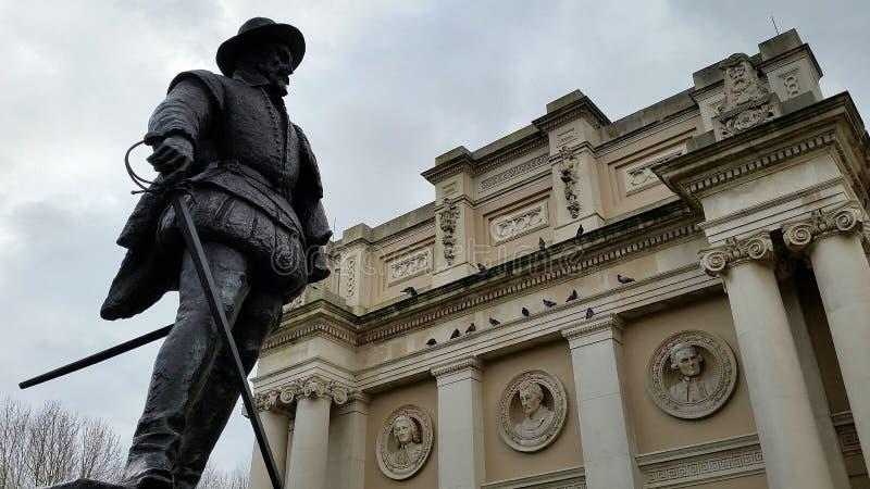 Morscy pomniki w Greenwich, Londyn fotografia royalty free