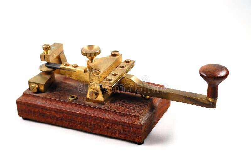 Morse klucz obrazy stock
