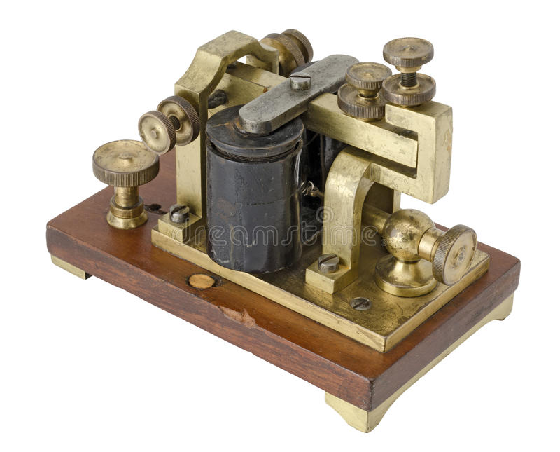 Download Morse Receiver stock photo. Image of message, connection - 25287204