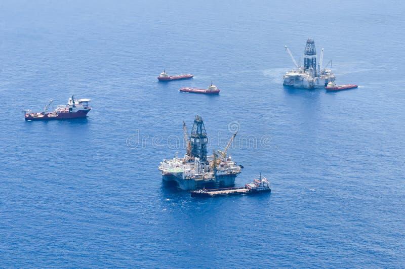 Morserij van de Olie van de Horizon van BP de Diepzee royalty-vrije stock foto
