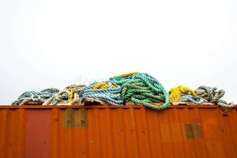 Morska Przemysłowa arkana zdjęcie stock