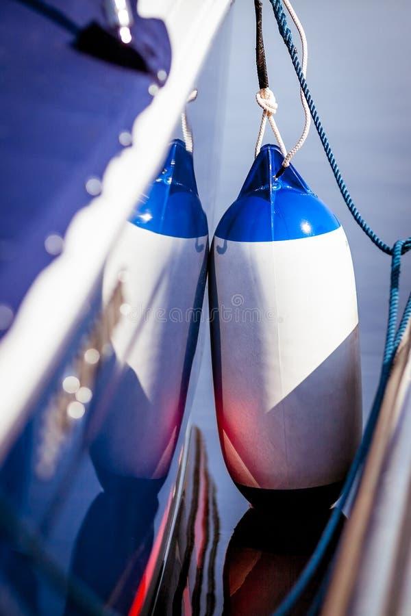 Morski fender zdjęcie royalty free
