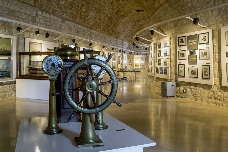Morski muzeum, Dubrovnik zdjęcie royalty free